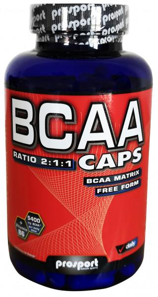 Prosport BCAA Kapseln 180 Kapseln / 130 g Dose