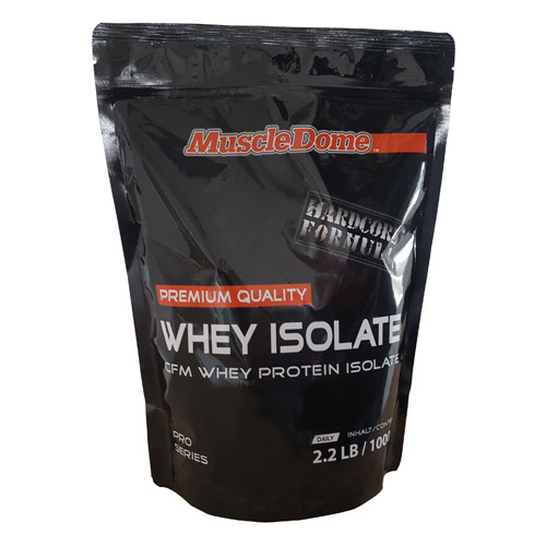 MuscleDome Whey Isolate 1000g Zipp-Beutel