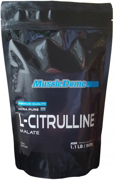 MuscleDome L-Citrulline Powder 500g Zipp-Beutel