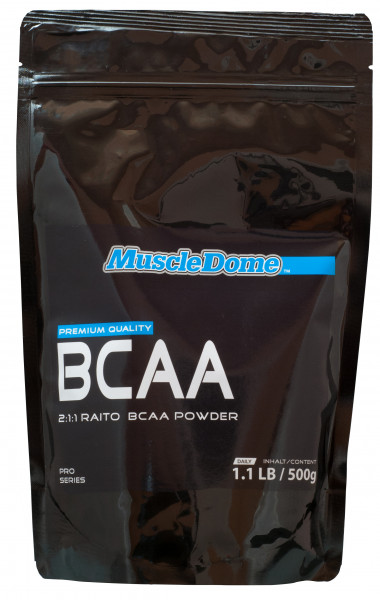 MuscleDome BCAA Powder 500g Beutel