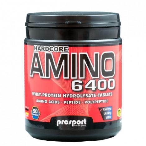 Prosport HARDCORE AMINO 6400 400 Tabletten / 400g Dose
