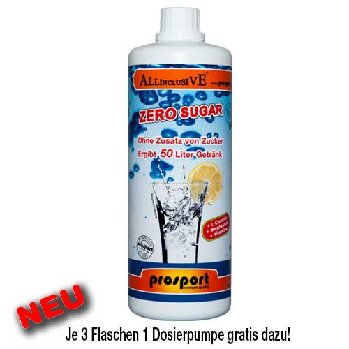 Prosport ALLINCLUSIVE ® mit Koffein 1L/Flasche