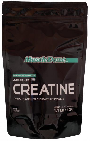 MuscleDome Creatine Powder 500g Zipp-Beutel