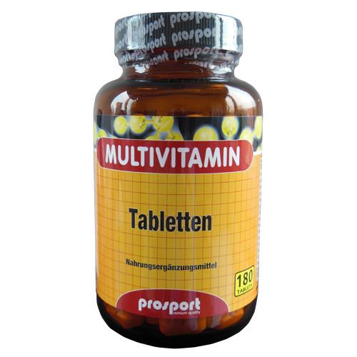 Prosport MULTIVITAMIN Tabs 180-Tabletten 144g-Dose
