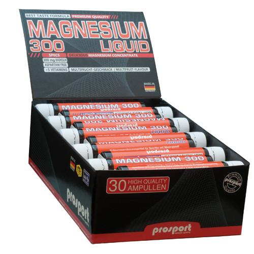 Prosport MAGNESIUM 300 LIQUID 750ml/30 Trinkampullen á 25ml